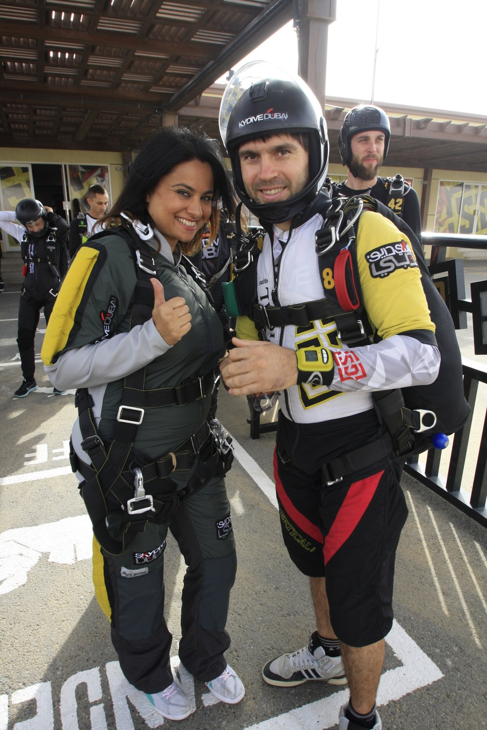 Before the Skydive shoot.JPG