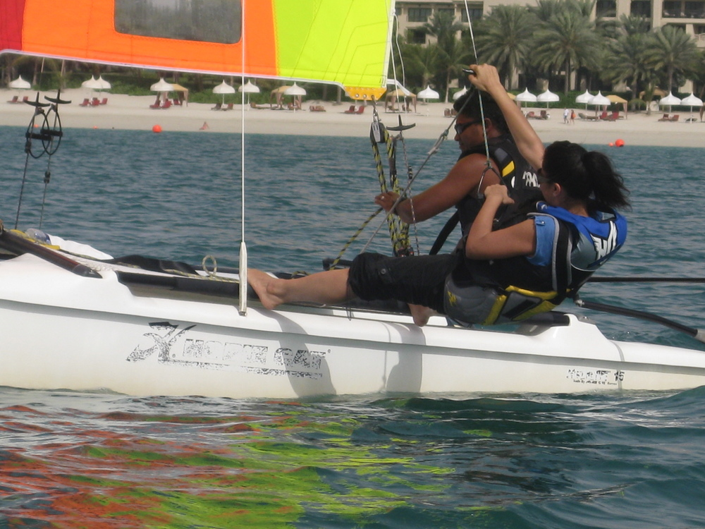 Filming water sports in Dubai.JPG