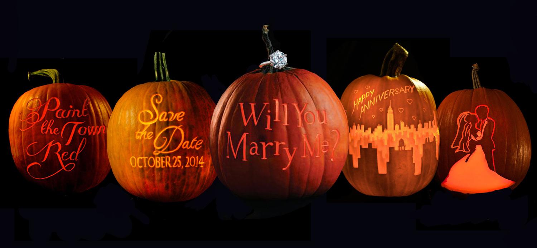 maniac pumpkin carvers - professional pumpkin carving - weddings