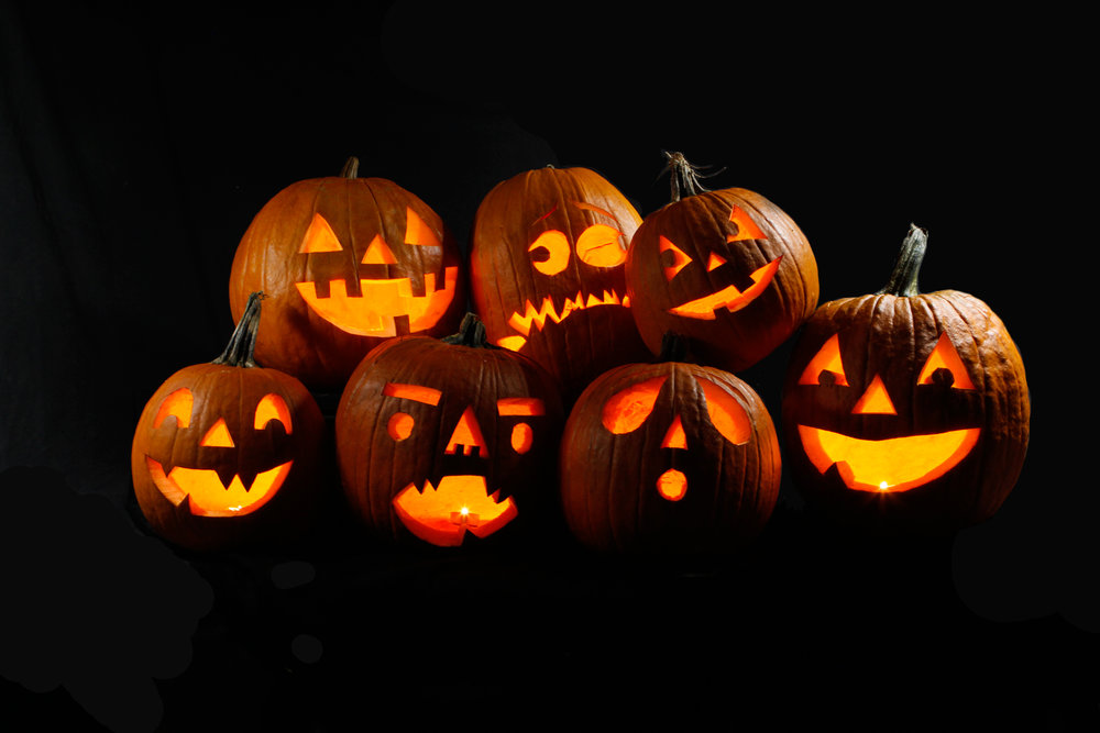 FUN AND ORIGINAL DESIGNS If you need one Jack O' Lantern or one hundred, our carvers can provide you with pumpkins that are sure to impress and add a fun classic Halloween vibe to any location.