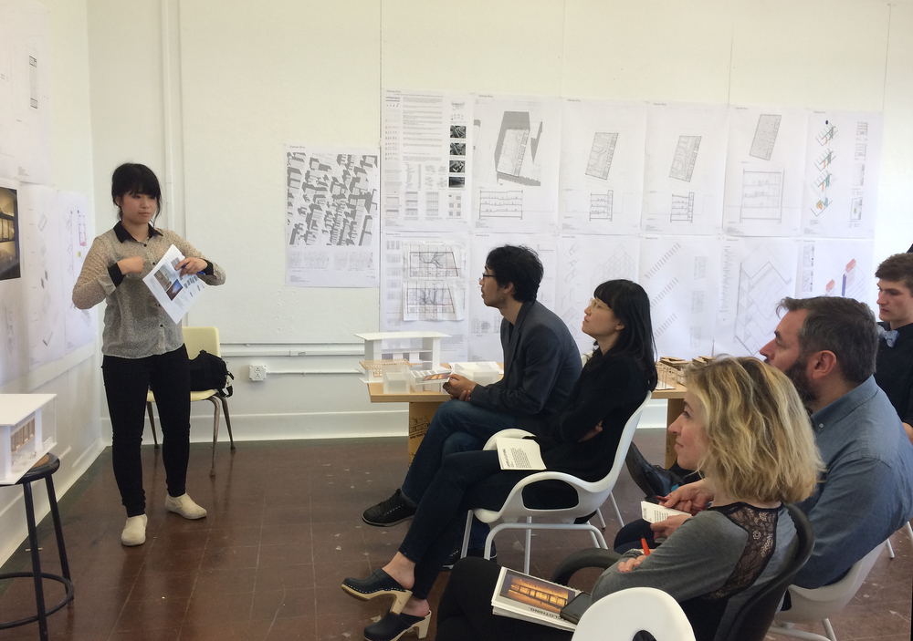 Final Review. B/a+p UB. Buffalo, NY. May 2015. Jin Young Song, Ang Li, Eduardo Delgado, Miriam García. St.: Azuka Fujita.