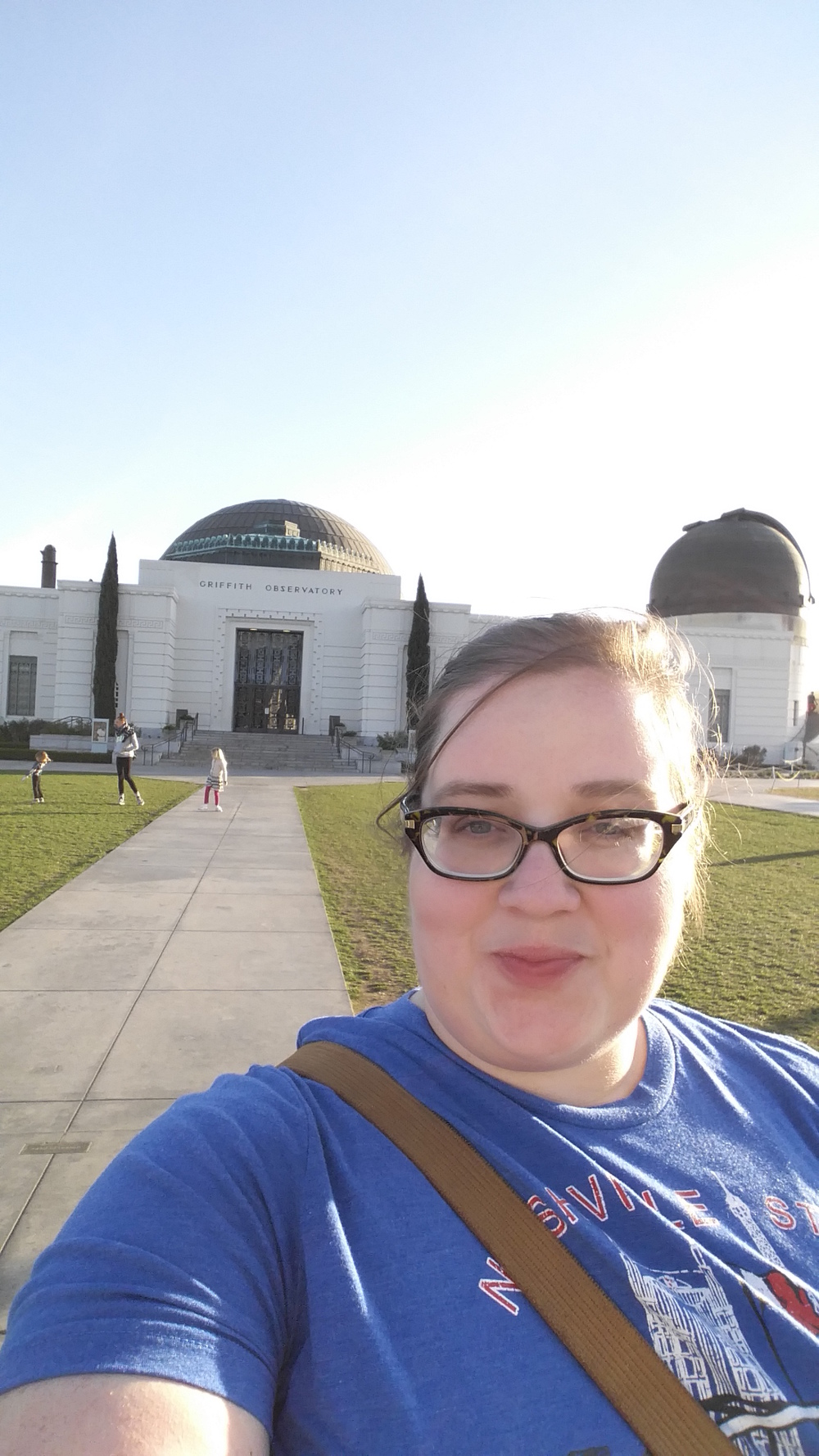 Griffith Observatory, my very  happy place
