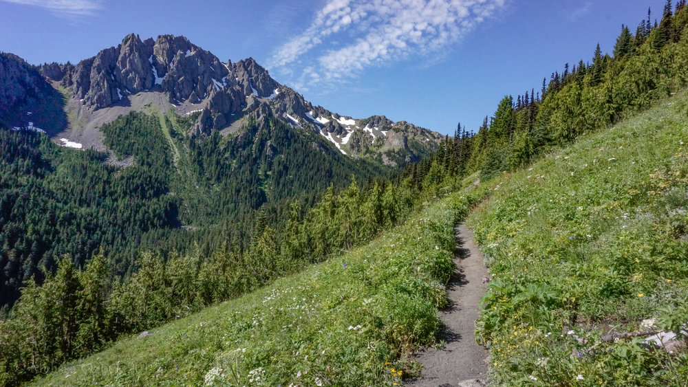 3. Upper Big Quilcene-Marmot Pass