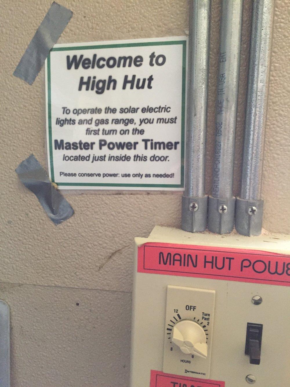 Master Power Timer