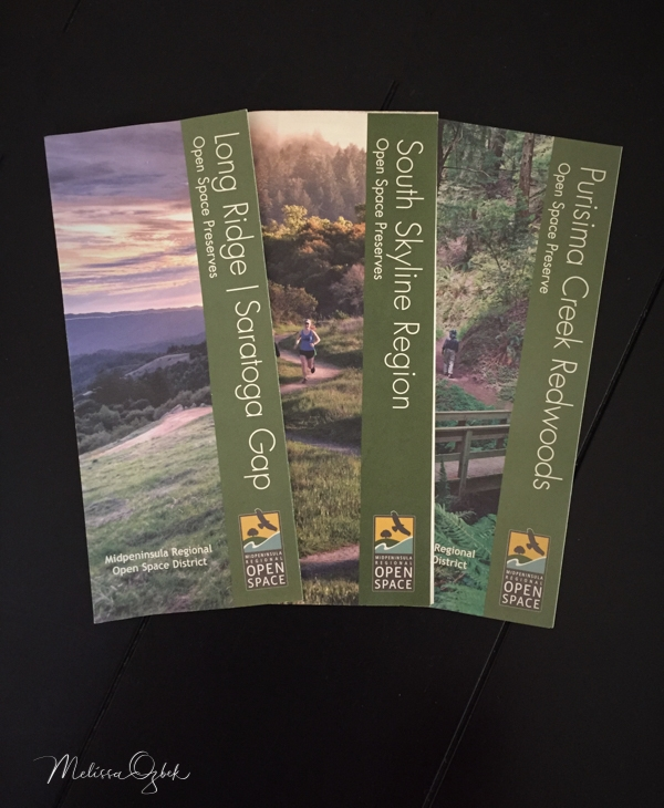 Free maps available at trailheads