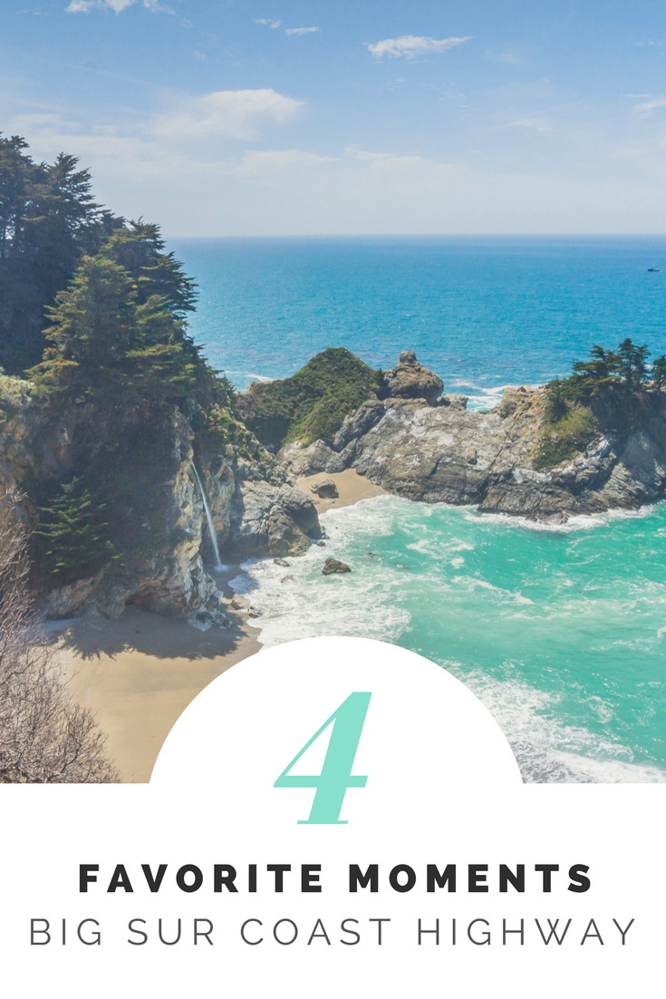 4 Favorite Moments // Big Sur Coast Highway
