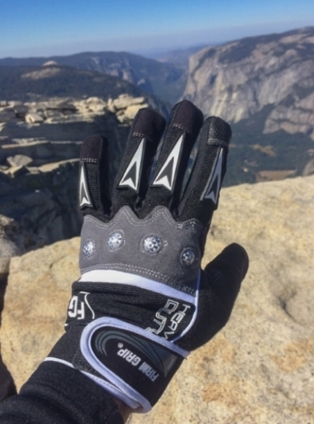 half dome gloves