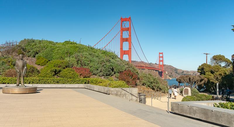 Statue of Joseph Strauss, Chief Engineer of the Golden Gate Bridge