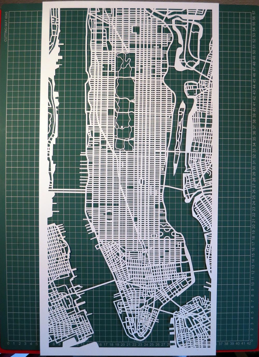 12 x 24 Manhattan