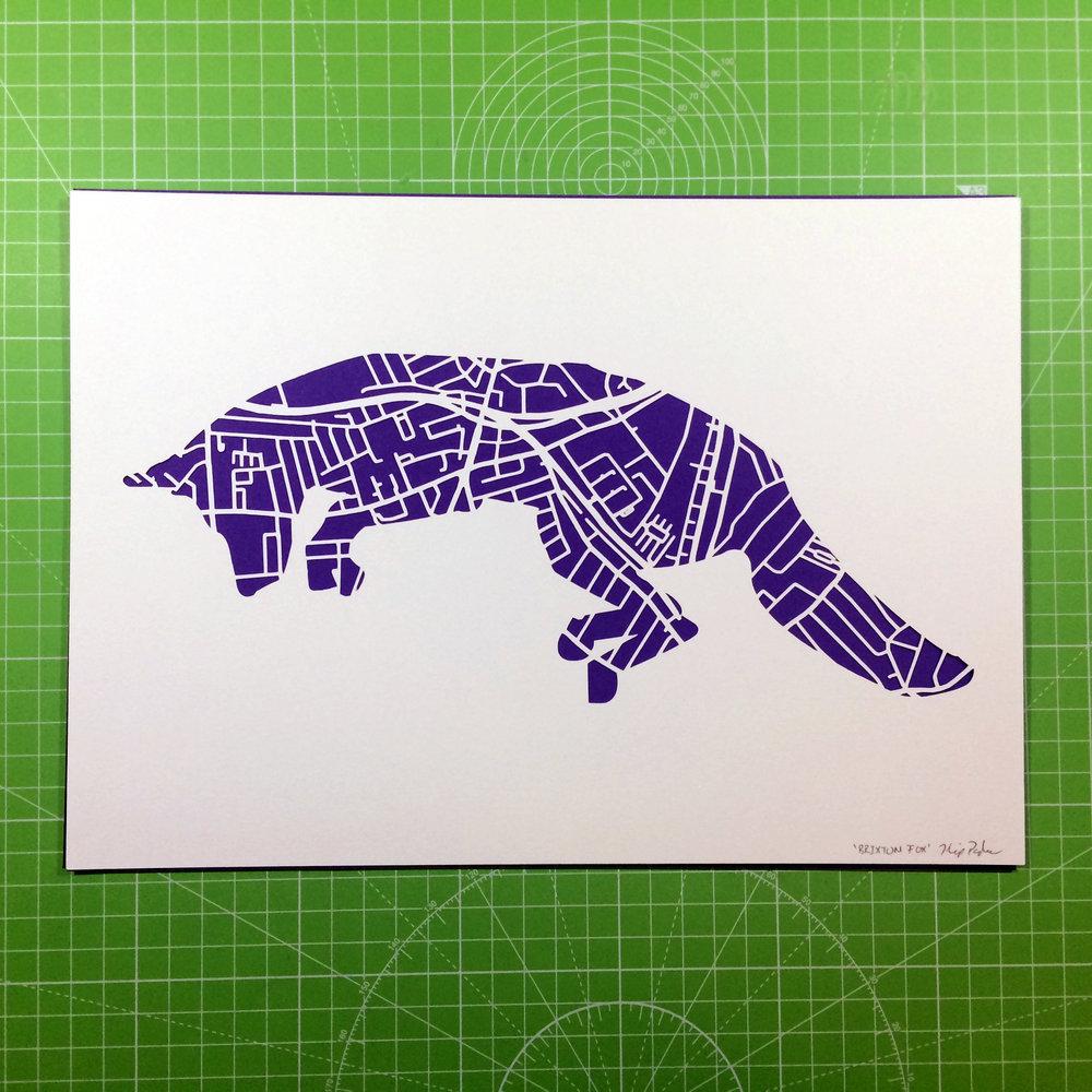 Brixton Fox - Paper cutting - Kartegraphik.jpg