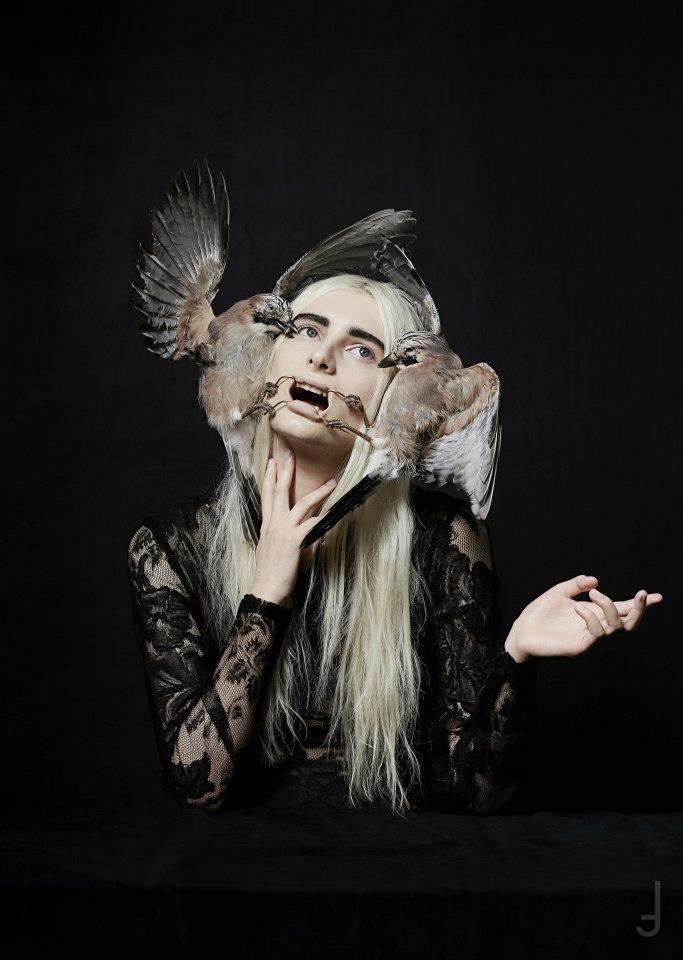 Collaboration with photographer Philip Meech and stylist Hope Von Joelon