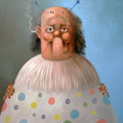 #GeorgeCondo+'The+Clown',+2010+at+#Skarstedt+Gallery+#ABMBgalleries+#ArtBasel.png