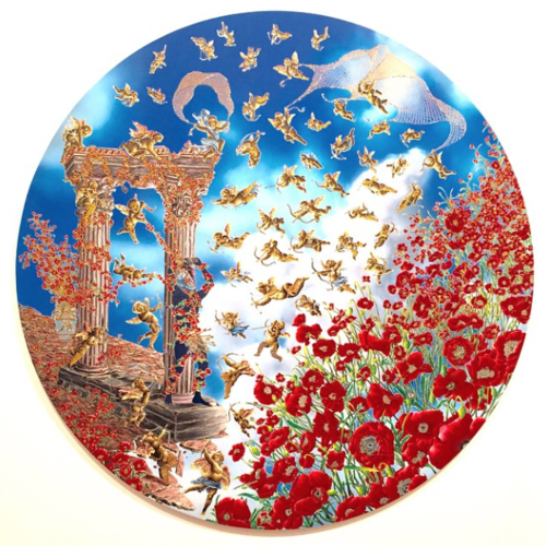 RaqibShaw+'St.+Sebastian+of+the+Poppies',+2011-2012+at+@pacegallery+#ABMBgalleries+#ArtBasel.png