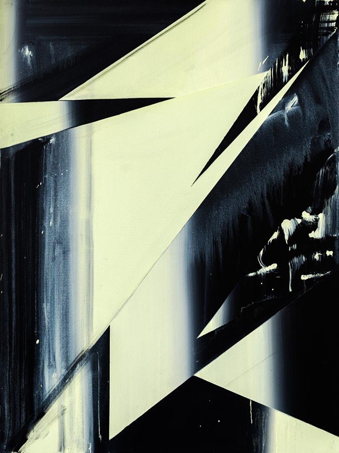 Cloaking Device, acrylic on canvas, 102 x 76cm, 2013. photo: Joe Plommer