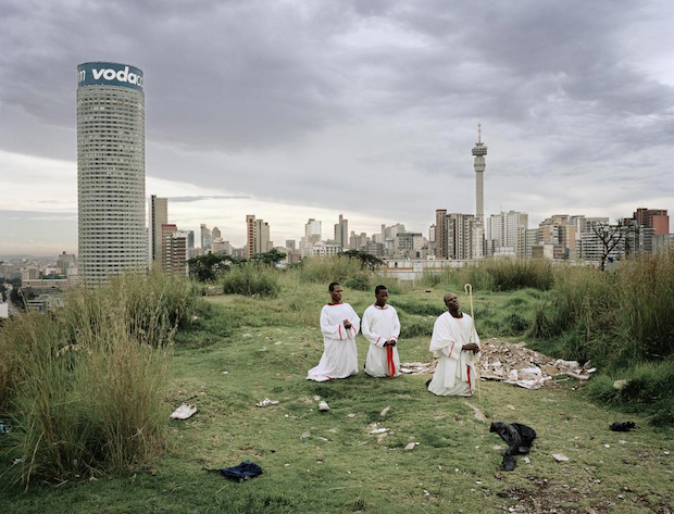 Ponte City from Yeoville Ridge, from the series Ponte City, 2008 © Mikhael