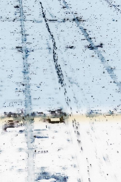 Michael Corridore - Transient, The think line we walk