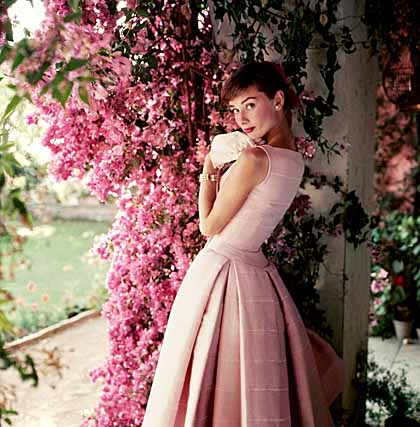 Audrey Hepburn photographed by Norman Parkinson for Glamour Magazine, 1955 © Norman Parkinson Ltd/Courtesy Norman Parkinson Archive