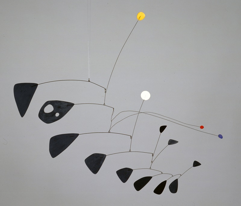 Alexander Calder (1898 - 1976) Antennae with Red and Blue Dots1953 Tate© ARS, NY and DACS, London 2015