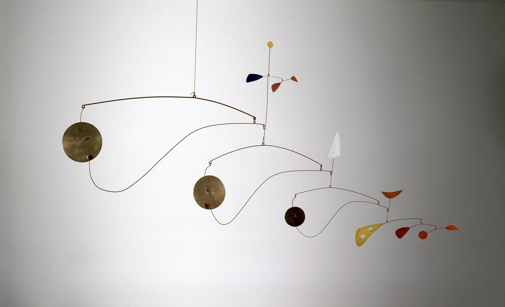 Alexander Calder (1898 - 1976) Triple Gong c.1948 Calder Foundation, New York, NY, USA Photo credit: Calder Foundation, New York / Art Resource, NY ©ARS, NY and DACS, London 2015