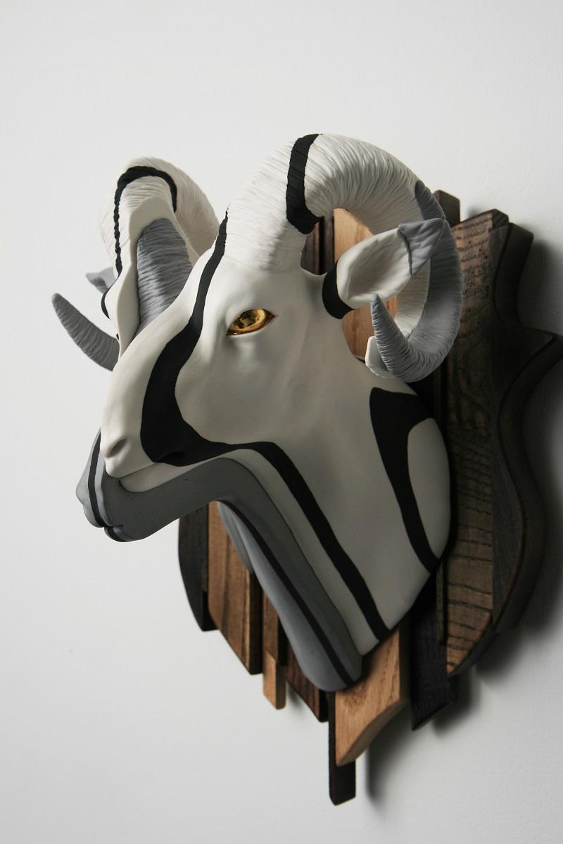1. Grey Adaptation_Ceramic,Wood_2012.jpg