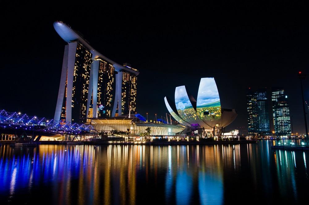 Singapore Skyline.Image credit Toh Ming Zong