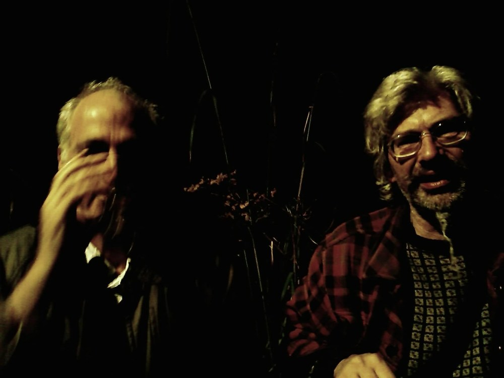 Photo by Ian Wright. The Painter and the Poet from The Art Herbert Series,2009.6x9 inch