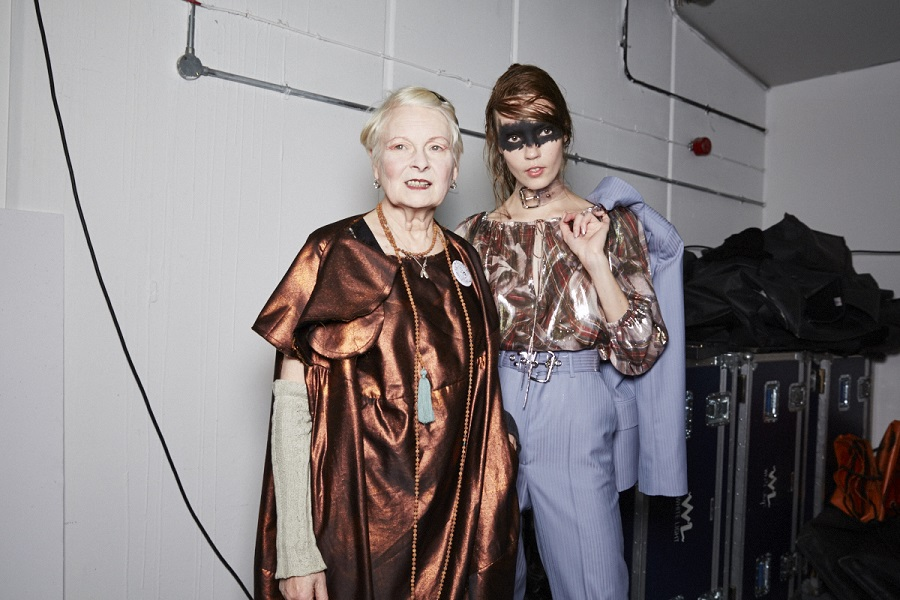 Vivienne Westwood SS16, Backstage (Sam Wilson, British Fashion Council)