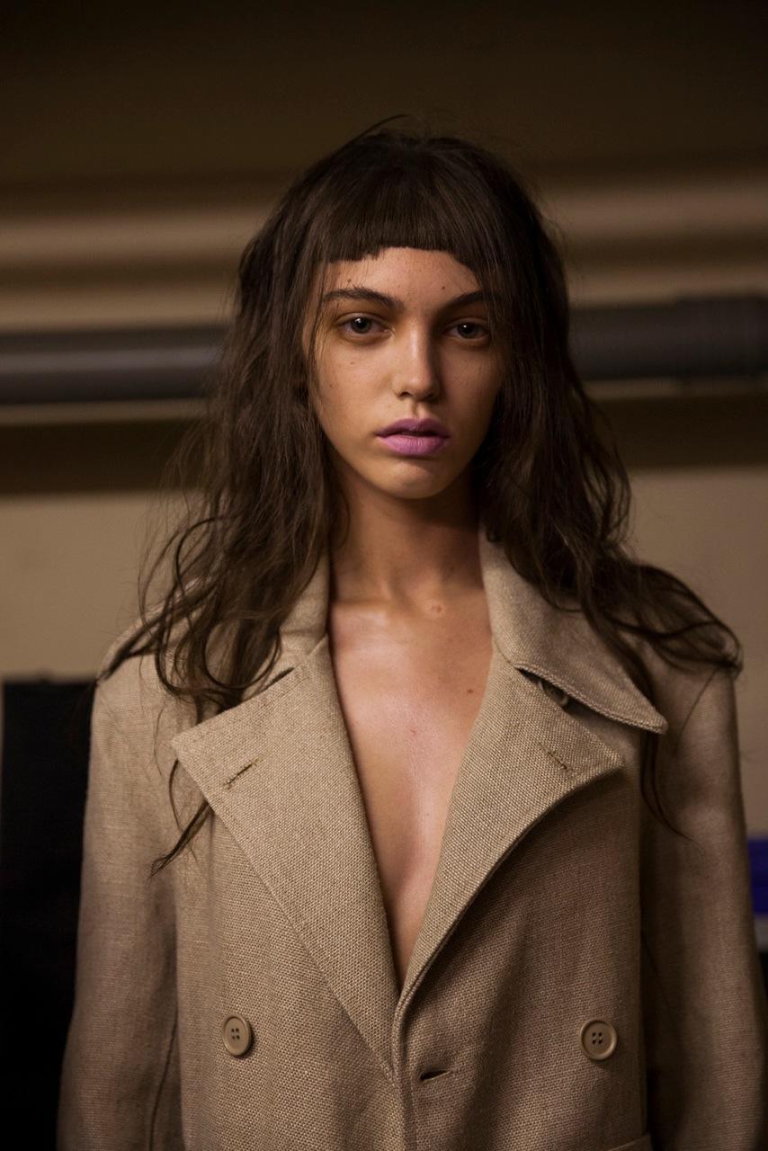 Marques Almeida SS16, Backstage -Eeva Rinne, British Fashion Council