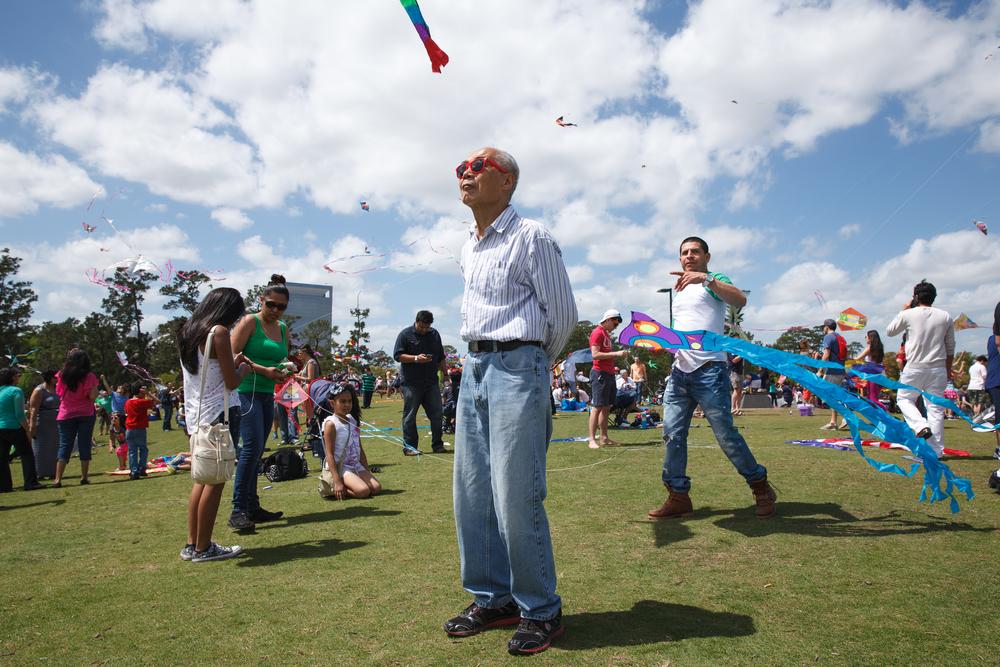 Hermann Park Kite Festival - Houston, Texas (2015)