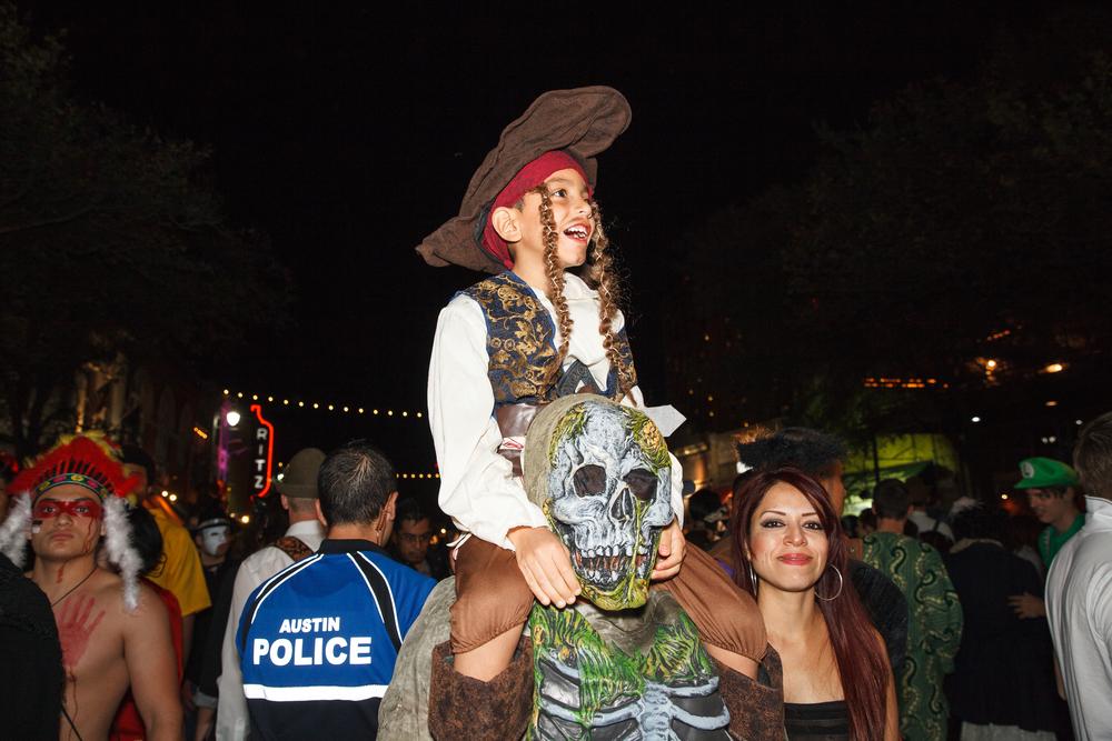 Halloween on 6th Street - Austin, Texas (2014)