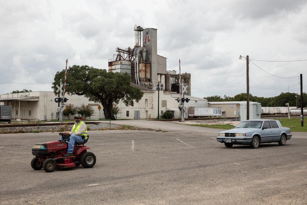 Railroad Street  Cuero, Texas (2016)