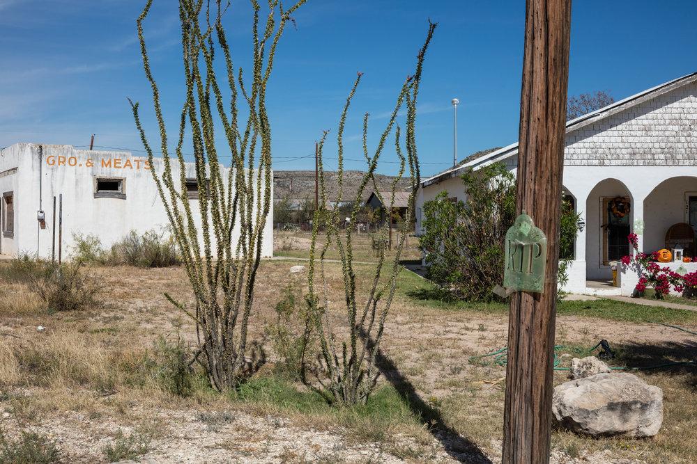 U.S. 90 & Avenue B  Sanderson, Texas (2016)