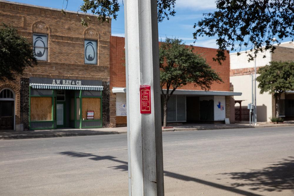3rd Street & Oak Street  Pecos, Texas (2016)
