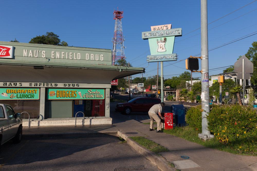 12th Street & West Lynn Street  Austin, Texas (2015)