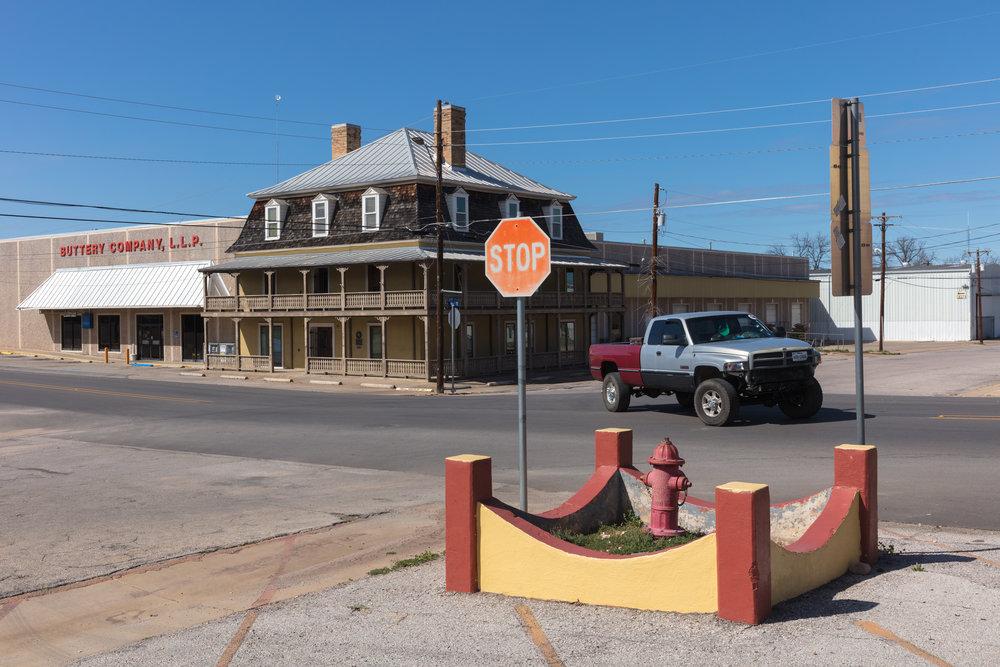 Main Street & Berry Street  Llano, Texas (2017)