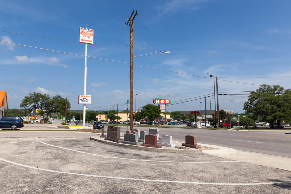Polk Street & Boundary Street  Burnet, Texas (2015)