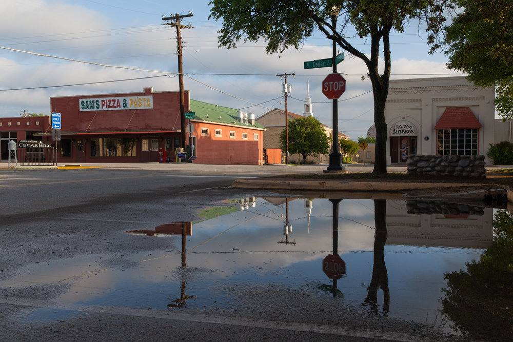 Houston Street & Cedar Street  Cedar Hill, Texas (2015)