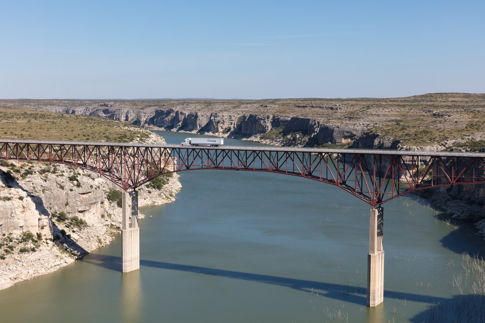 Pecos River Bridge overlook  Comstock, Texas (2016)
