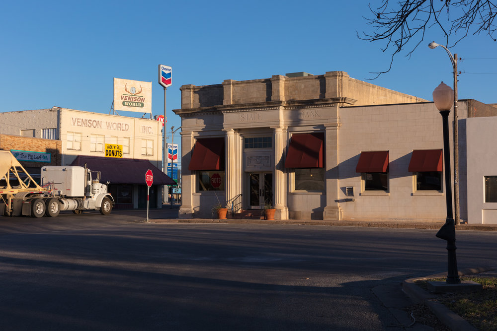 Jackson Boulevard & Main Street  Eden, Texas (2017)