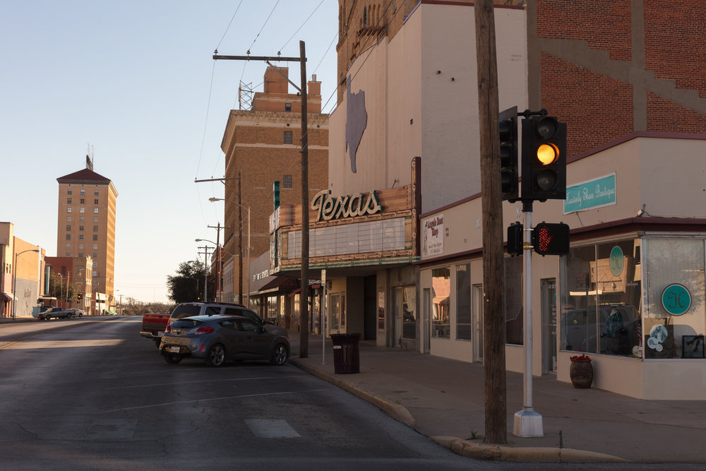 Twohig Avenue & Irving Street  San Angelo, Texas (2017)