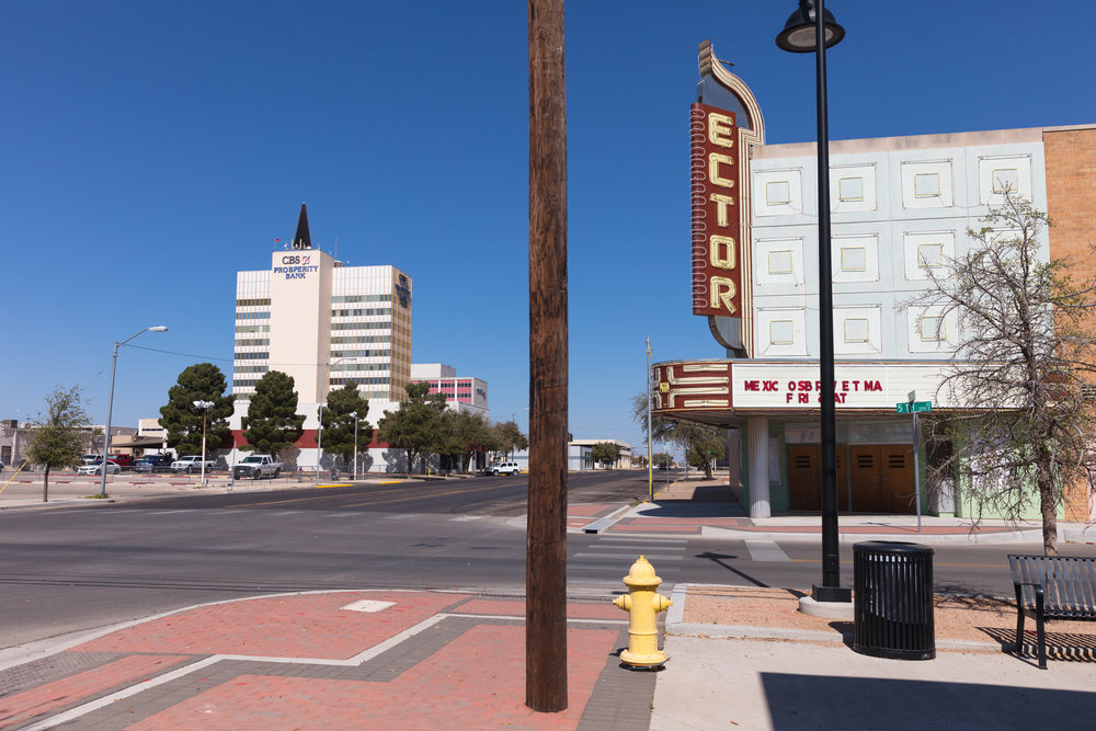 Texas Avenue & 5th Street  Odessa, Texas (2017)