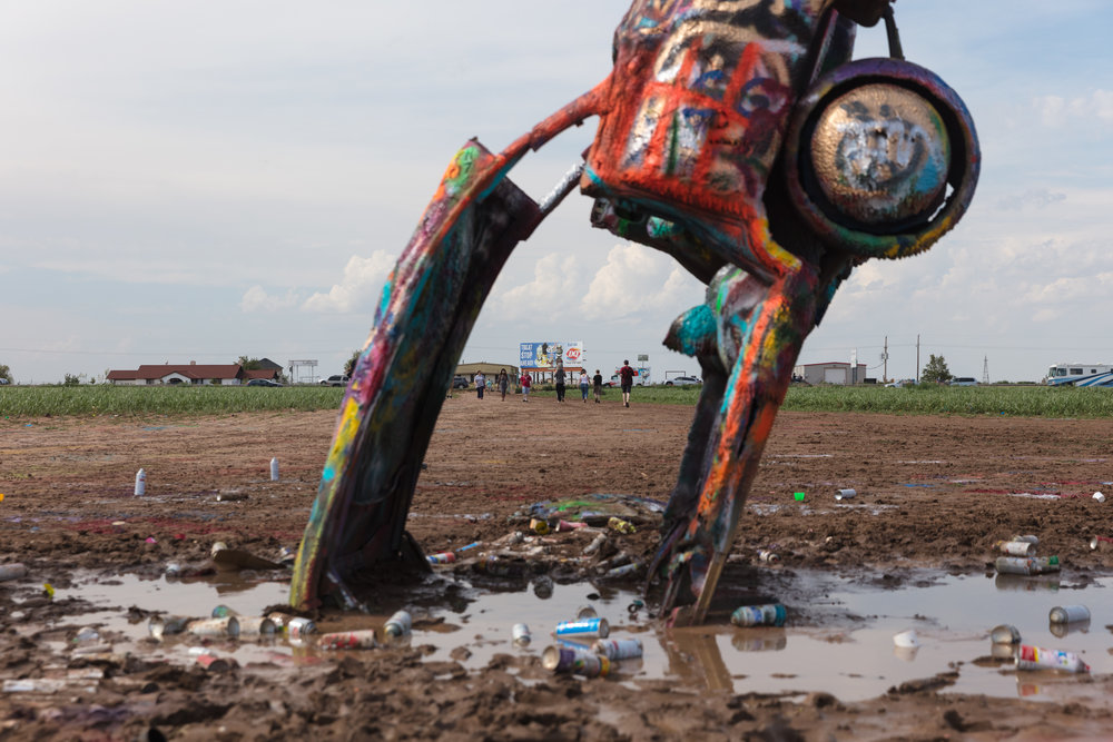 Cadillac Ranch  Amarillo, Texas (2017)