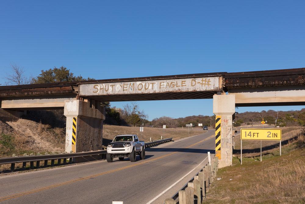 U.S. Route 183  Goldthwaite, Texas (2016)