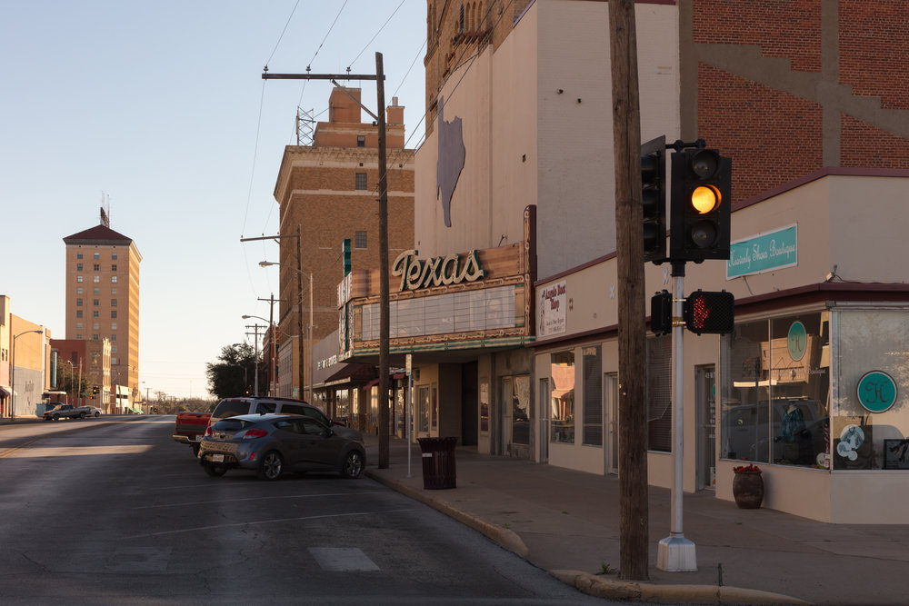 Twohig Avenue & Irving Street  San Angelo, Texas (2017)