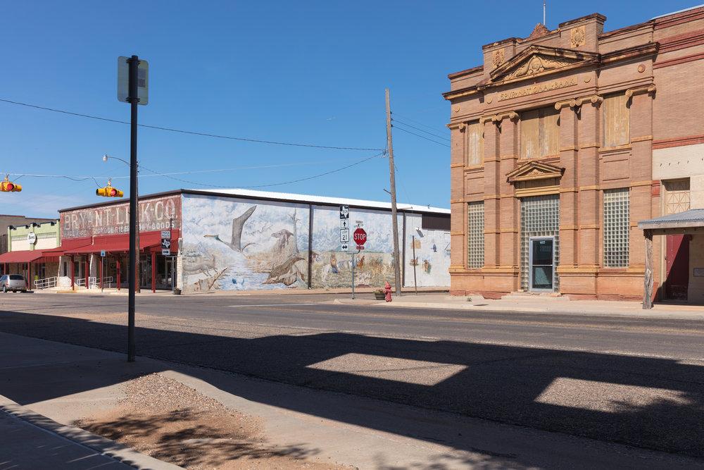 Burlington Avenue & Harris Street  Spur, Texas (2017)