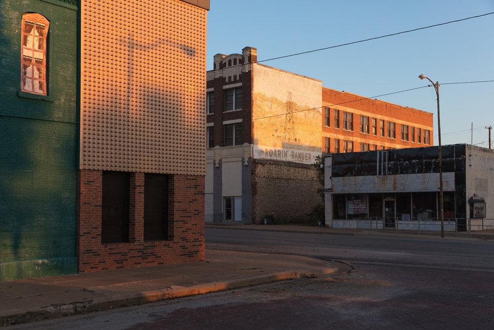 Rusk Street & Main Street  Ranger, Texas (2017)