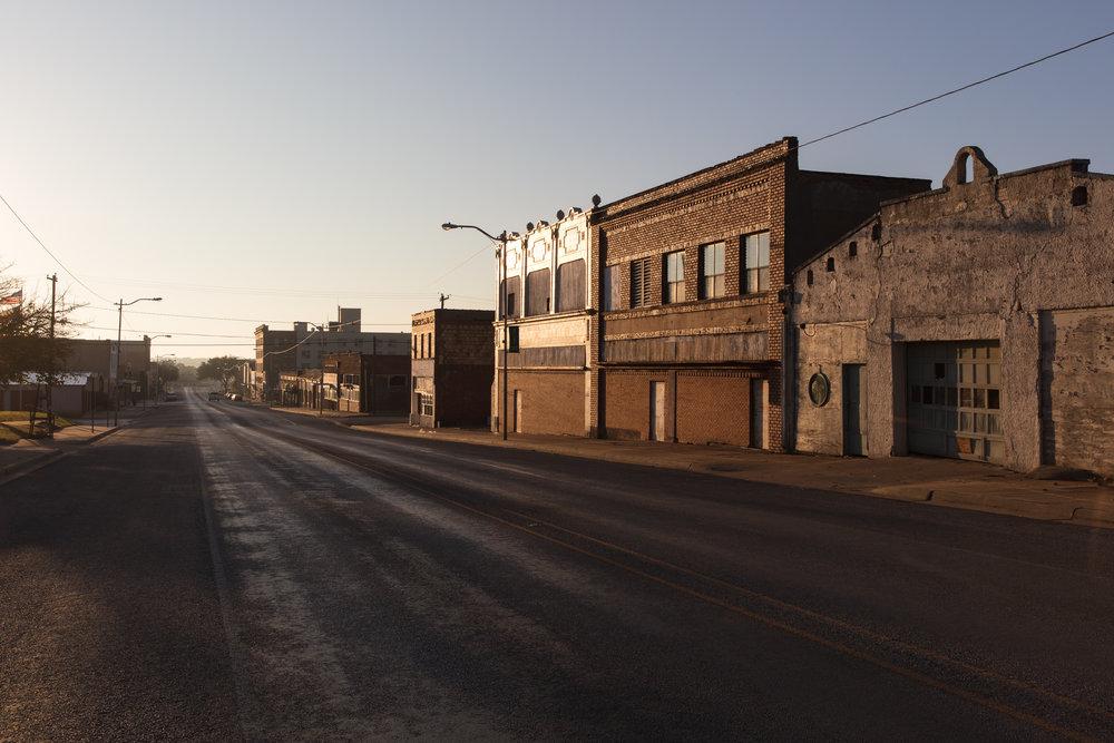 Main Street  Ranger, Texas (2017)