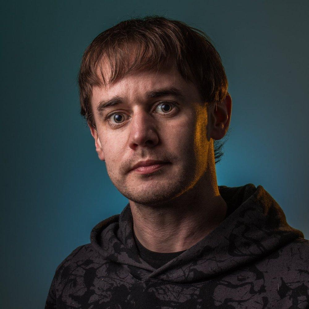 Self portrait of Edinburgh based photographer A D Zyne (Andrew Downie)