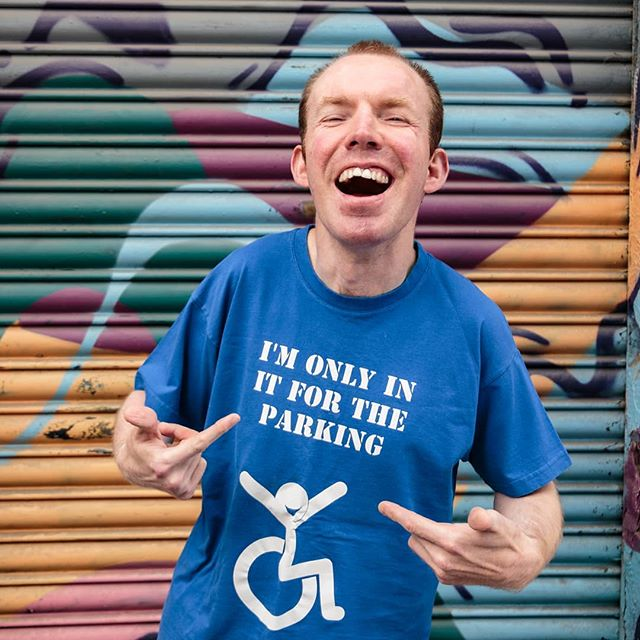 I had a fantastic and colourful shoot with @lostvoiceguy last weekend in Edinburgh. His regularly sold out show at @gildedballoon is hilarious with language as colourful as his tshirt collection