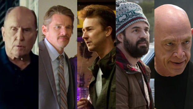 "Robert Duvall, ""The Judge""Ethan Hawke, ""Boyhood""Edward Norton, ""Birdman Mark Ruffalo, ""Foxcatcher"" J.K. Simmons, ""Whiplash"""